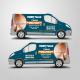 Covering véhicule, Com'alibi graphiste print et web, Nantes, La Roche sur Yon, Les Sables d'Olonne, Challans, Saint Gilles Croix de Vie, Saint Jean de Monts, Vendée, France